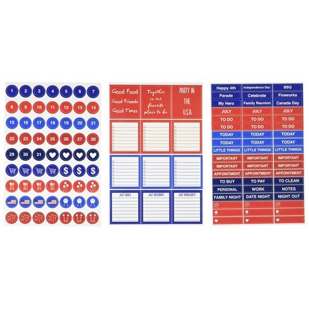 July Calendar Sticker  4   X 6    Perfect For Planner  Journal  Calendar  Scrapbooking  Cards  And Paper Crafts By Reminisce