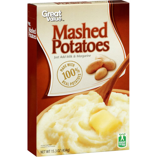 Great Value Mashed Potatoes, 15.3 oz