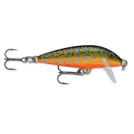 Rapala countdown 01 fishing lure 1 inch brown trout for Walmart fishing lures