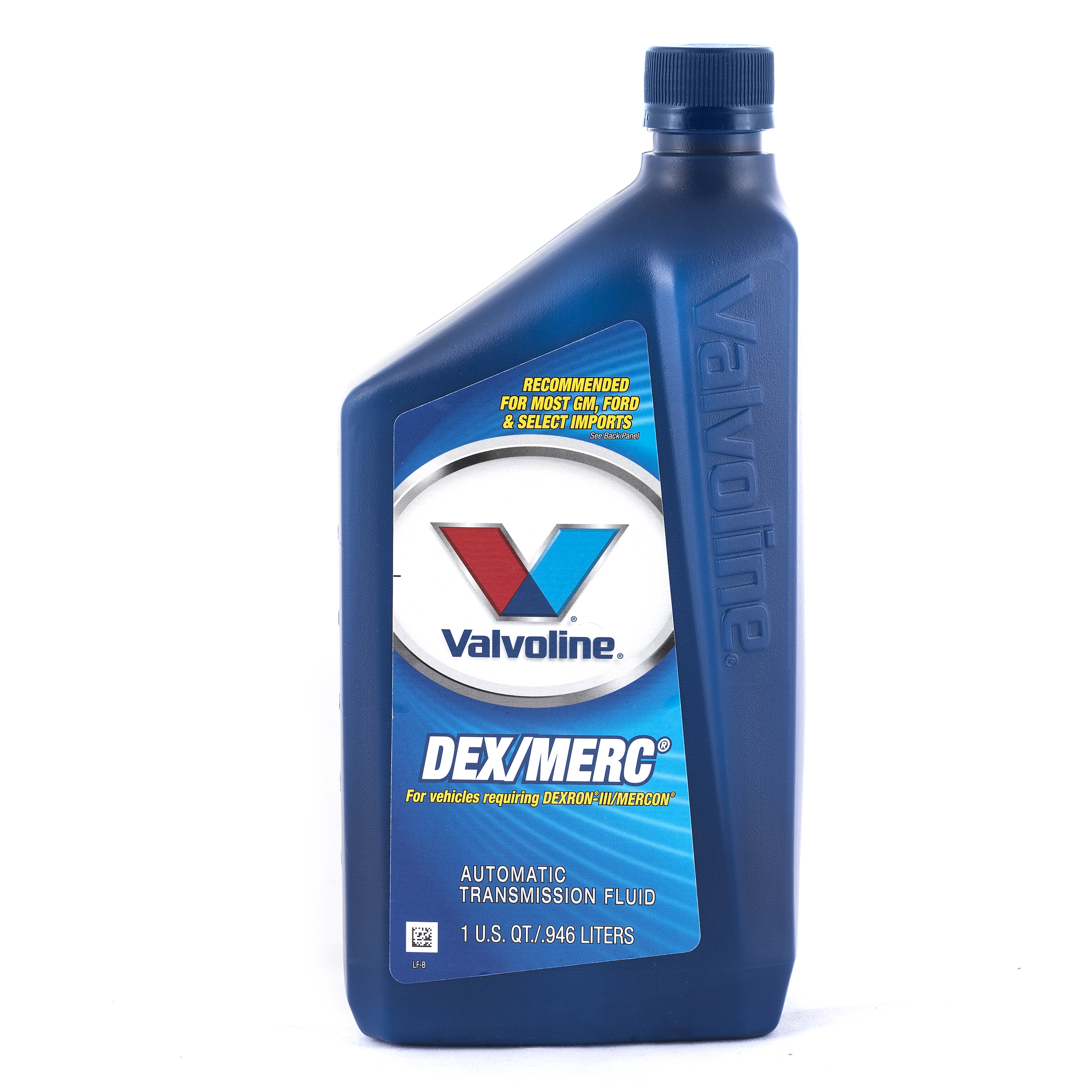 Valvoline DEX/MERC Automatic Transmission Fluid, 1 Quart