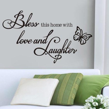 bless wall art removable home vinyl window wall stickers decal decor