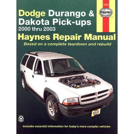 Haynes Dodge Durango and Dakota Pick-Ups Automotive Repair - Parts List Manual