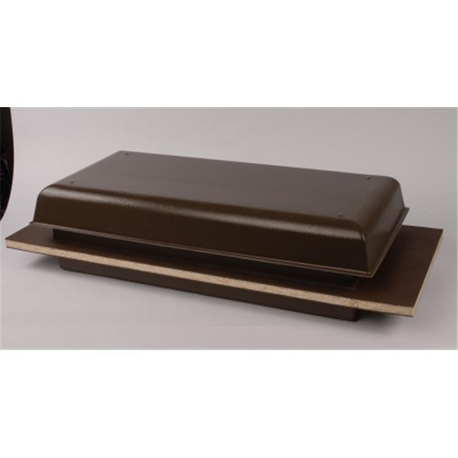 Tamarack TTi-TC1000HB Solid Roof & Wall Whole House Fan - Brown
