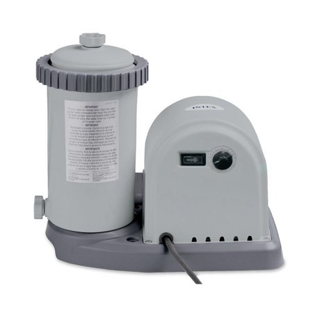 Intex 1500 GPH Easy Set Pool Filter Cartridge Pump with Timer & GFCI | 28635EG