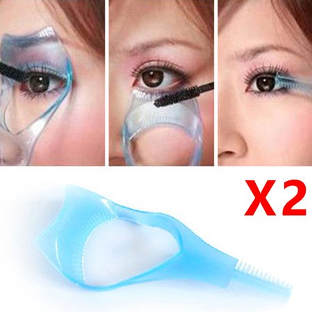 Holiday Clearance 2pcs Three-dimensional Crystal Three in One Eyelash Card Beauty Cleaning Supplies - Glow In The Dark Eyelashes