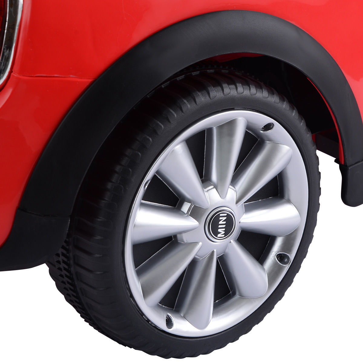 Red BMW MINI Hatch 12V Electric Kids Ride On Car Licensed MP3 RC Remote Control - image 4 de 7