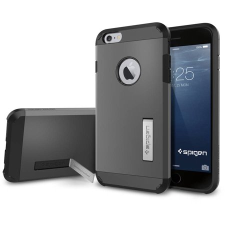 d0557f38245 Spigen Apple iPhone 6 Plus Case Tough Armor - Walmart.com