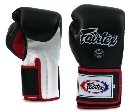 Fairtex Super Sparring Boxing Gloves Muay Thai Kickboxing Gloves 14oz 16 18 20oz
