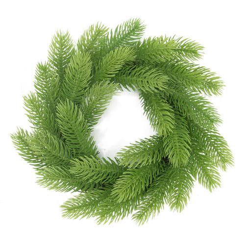 Northlight Seasonal Molded Tip Artificial Christmas Wreath on Twig Base