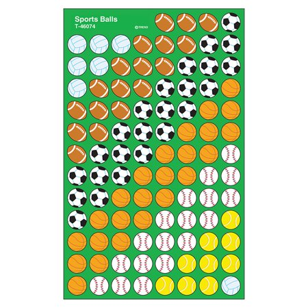 SUPERSHAPES STICKERS SPORTS BALL](Sports Stickers)