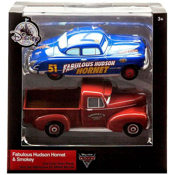Disney Cars Cars 3 Fabulous Hudson Hornet Smokey Diecast 2 Pack