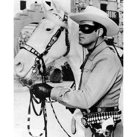 LAMINATED POSTER Lone Ranger Television Series Actor Cowboys Poster Print 24 x 36