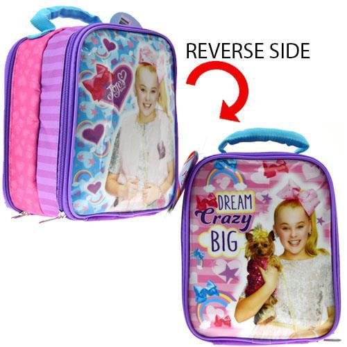 "8"" JoJo Siwa Dream Star Crazy Big Girls Lunch Bag/ Box"