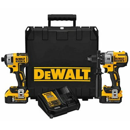 DeWalt DCK299P2 20v Brushless Hammer Drill And Impact Combo Kit