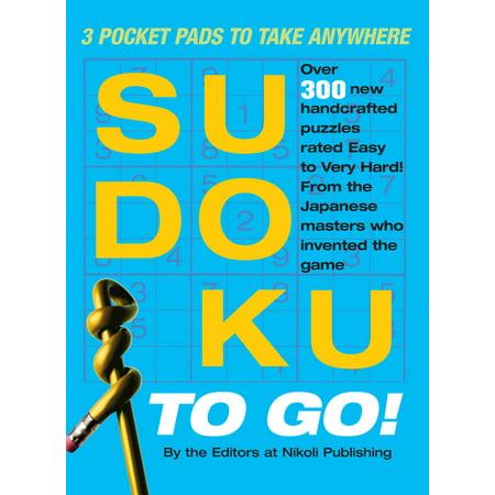 Sudoku to Go! : 3 Pocket Pads to Take Anywhere