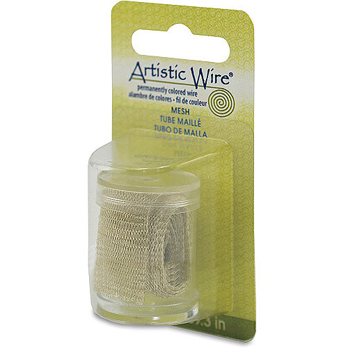 Artistic Wire Mesh 18mm Gold 1m
