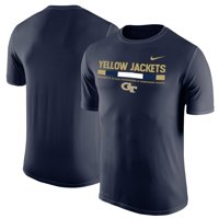 GA Tech Yellow Jackets Nike 2017 Sideline Legend Dri-FIT T-Shirt - Navy
