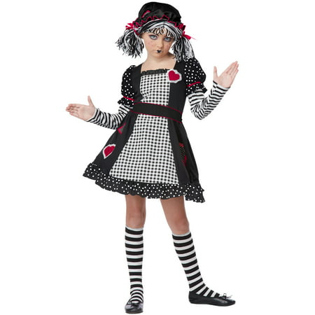 Gothic Rag Doll Child Costume for $<!---->