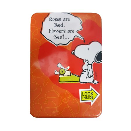 Snoopy Valentines Day (Exclamations! Peanuts Snoopy Valentines Day Candy In Collectible Mailable Tin)
