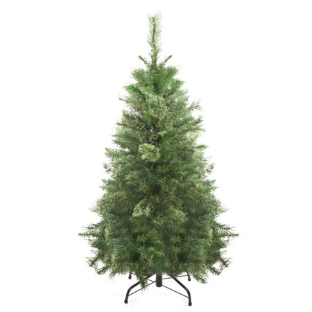 4' Mixed Cashmere Pine Medium Artificial Christmas Tree - Unlit - image 2 of 2