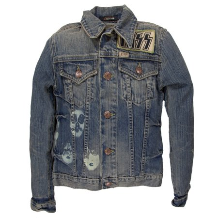 Kiss - US Tour 77 Premium Juniors Denim - Touring Drystar Jacket