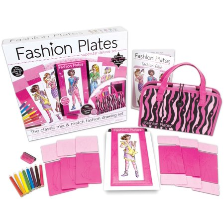 Fashion Plates Superstar Deluxe Kit- (Star Kite)