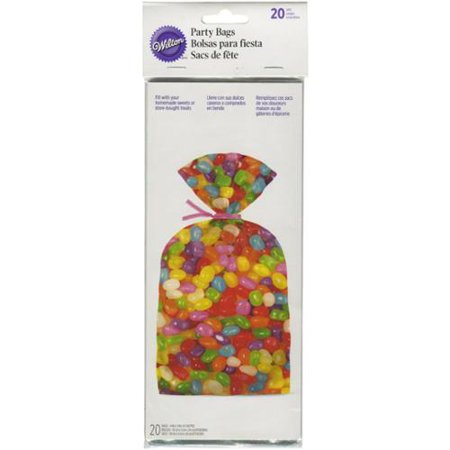 Treat Bags 20/Pkg-Photo Real Jelly Beans