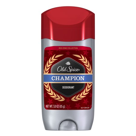 Old Spice Red Zone Champion Scent Deodorant For Men  3 0 Oz