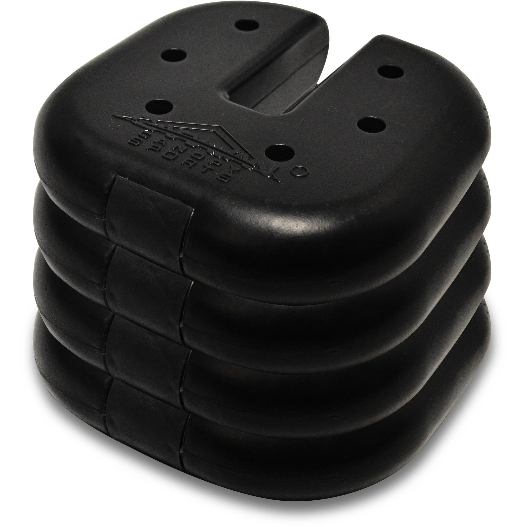 Caravan Canopy Sports Weight Plates, Set of 4
