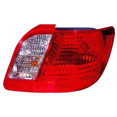 Go Parts 187 2006 2011 Kia Rio Rear Tail Light Lamp