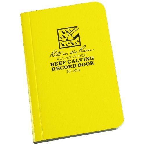Rite in the Rain 1621 All-Weather Field-Flex Beef Calving Record Book
