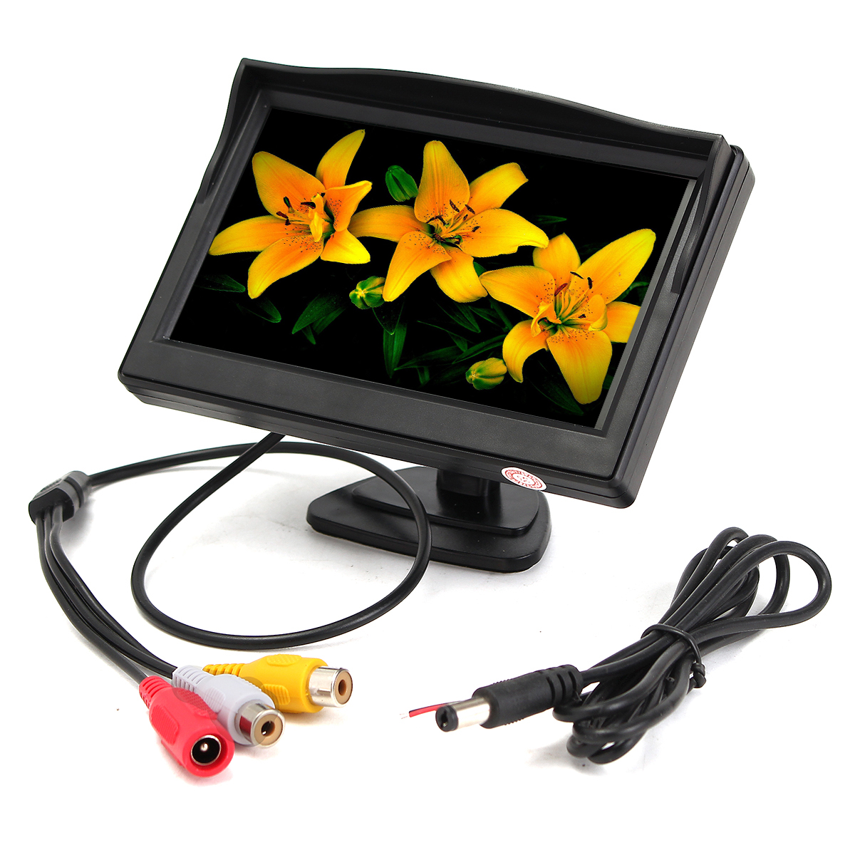 "5"" TFT LCD Car Monitor Screen Display for DVD Rearview Reverse Backup Camera Kit"