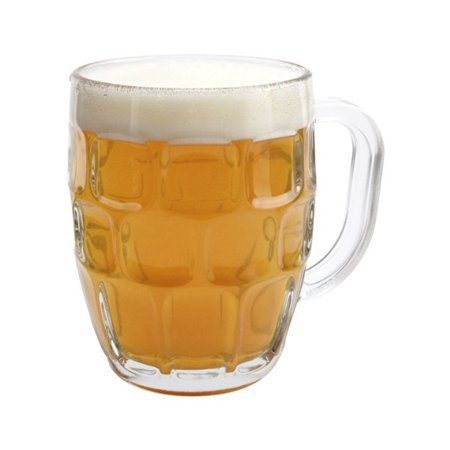 Libbey Glass 19.25 Ounce Dimpled Beer Stein (Pottery Beer Stein)