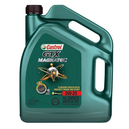 castrol gtx magnatec 0w 20 full synthetic motor oil 5 qt. Black Bedroom Furniture Sets. Home Design Ideas