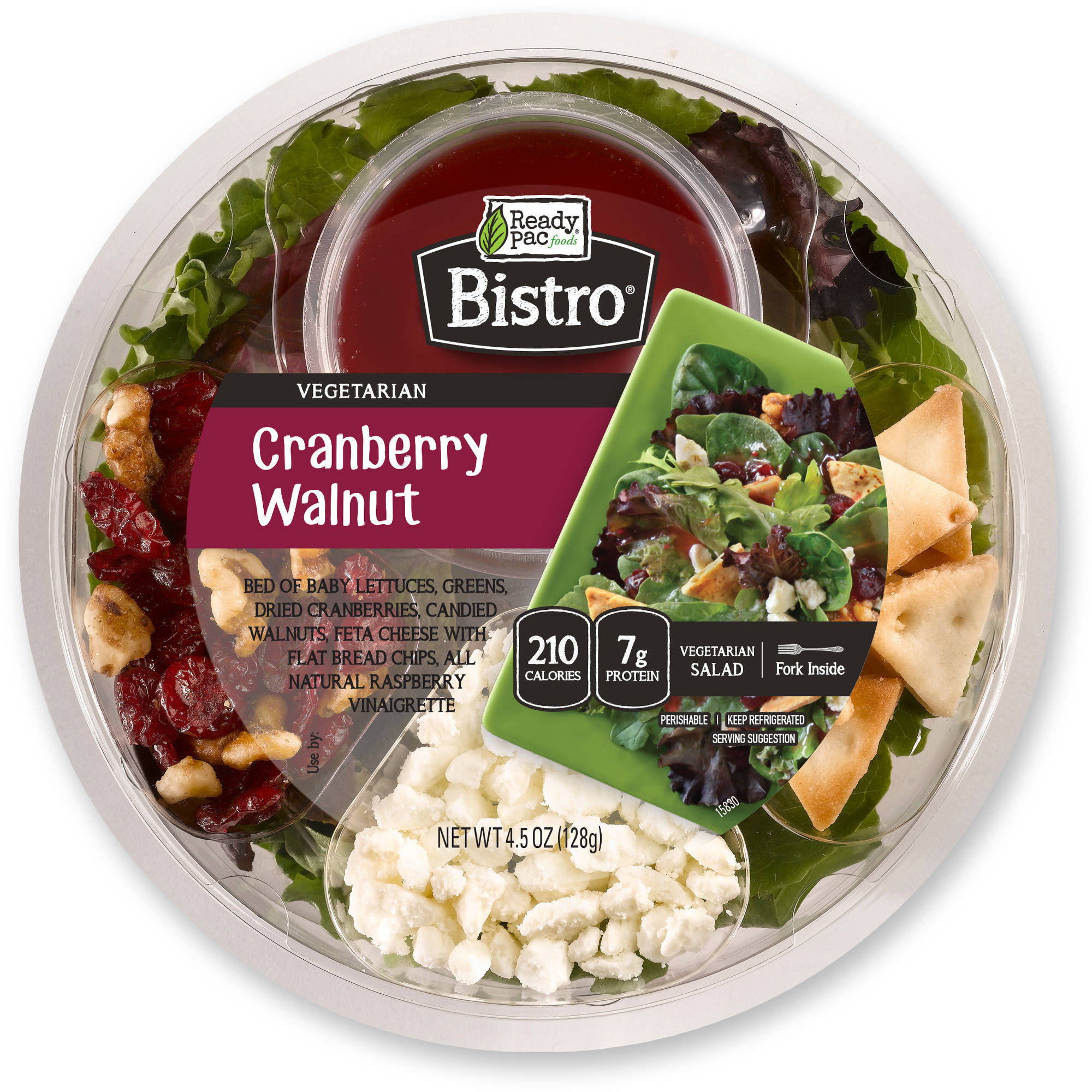 Ready Pac Bistro Cranberry Walnut Salad, 4.5 oz