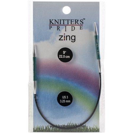 "Knitter's Pride-Zing Fixed Circular Needles 9"" - image 1 of 1"
