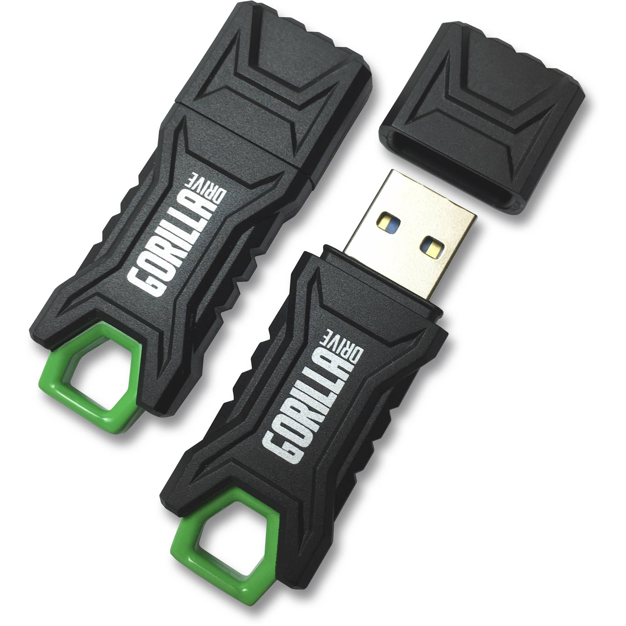 GorillaDrive 3.0 Ruggedized 64GB USB Flash Drive