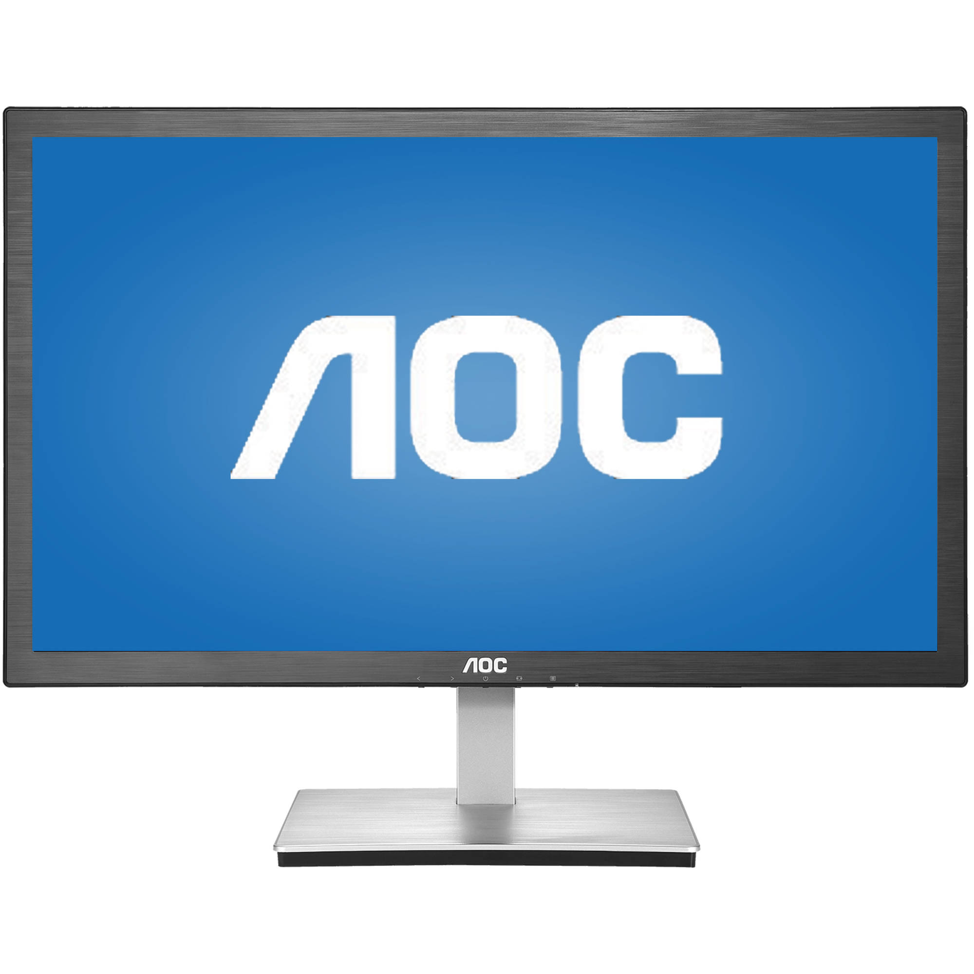 "AOC Monitor 24"" Class Full HD 1920x1080 Anti-Blue 1ms VGA HDMI E2476VWM6"