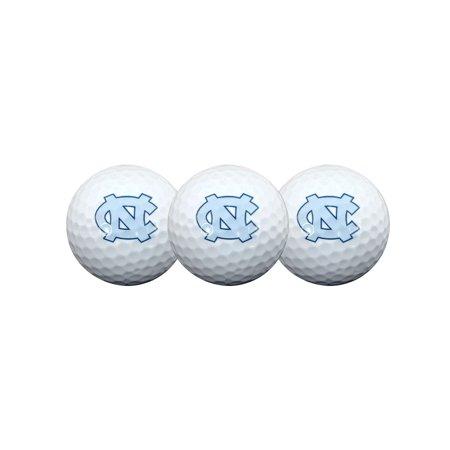 Team Effort North Carolina Tar Heels Golf Balls, 3 Pack