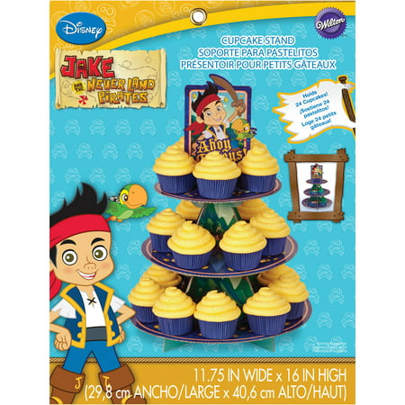 Wilton 3 Tier Treat Stand Jake And The Never Land Pirates 1512 1665