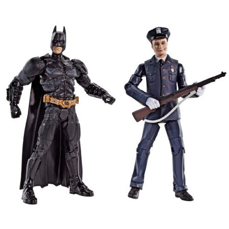 Batman Legacy The Dark Knight Batman And Police Honor Guard Joker Collector Figure 2-Pack DC