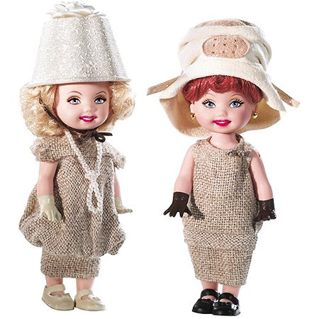 Barbie - Mattel Kelly I Love Lucy Dolls Giftset](Halloween Kelly Dolls)