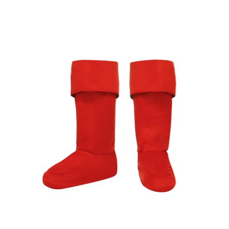 Adult Red Superhero Boot Covers](Superhero Boot Covers)
