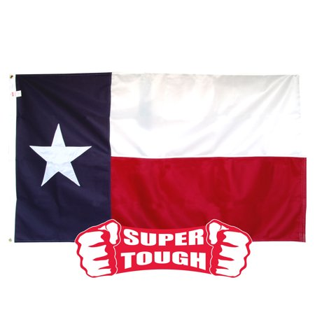 Texas Flag 3ft x 5ft Super Tough Sewn Polyester](Halloween Six Flags Fiesta Texas)
