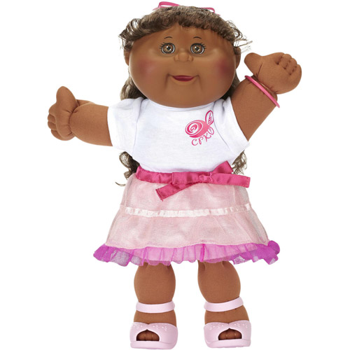 Cabbage Patch Kids Girly Girl Doll, African-American