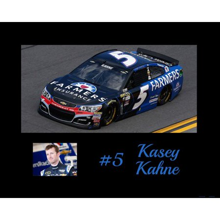 Frames By Mail Nascar Kesey Kahne Memorabilia On Wrapped Canvas