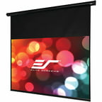 Elite Screens ST120UWH-E14 Starling Series Electric Screen, Black
