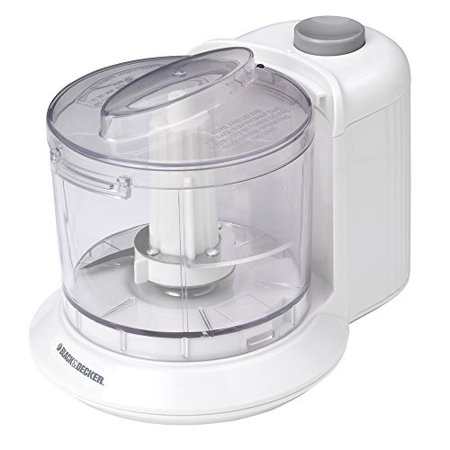 BLACK+DECKER HC306 One-Touch 1.5 Cup Capacity Electric Chopper,