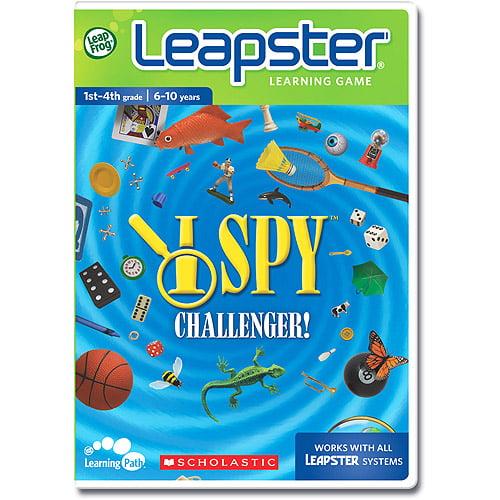 LeapFrog Leapster Software: I SPY Challenger by LeapFrog Enterprises, Inc.