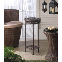 Zingz & Thingz 57071130 Cast Iron Round Plant Stand